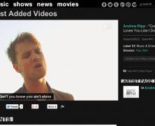 Andrew Ripp on MTV.com!