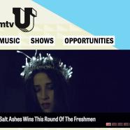 "Salt Ashes ""Raided"" wins The Freshmen on mtvU"
