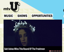"Salt Ashes ""Raided"" wins The Freshmen on mtvU"