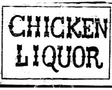 "Chicken Liquor ""Quince"""